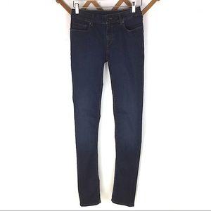 Prada Authentic Skinny Dark Blue Jeans Size 26